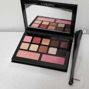 New Lancome Eyeshadow Pallette and Makeup Brush